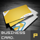 Yellow Corporate Business Card - GraphicRiver Item for Sale