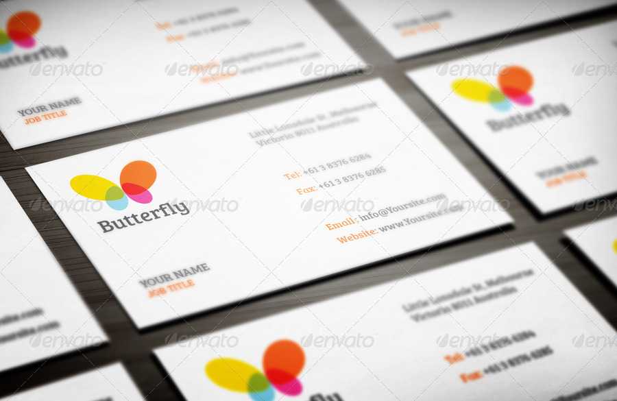 Business Card Mock-up vol.4