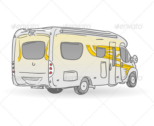 GraphicRiver Recreational Vehicle Illustration 3738657
