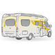 Recreational Vehicle Illustration - GraphicRiver Item for Sale