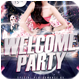 Welcome Party Flyer - GraphicRiver Item for Sale