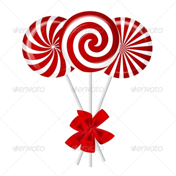 GraphicRiver Striped Candy Vector 3741536