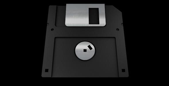3DOcean Realistic Floppy Disc 3741899