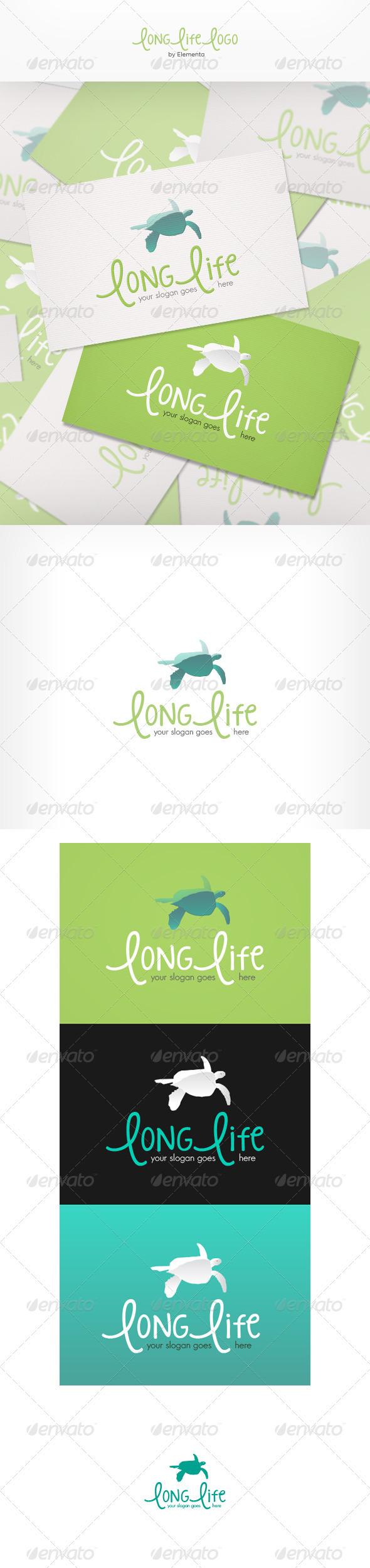 GraphicRiver Long Life Logo 3667433