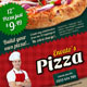 Pizza Menu Flyer - GraphicRiver Item for Sale
