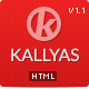 KALLYAS - Responsive Multipurpose Template - ThemeForest Item for Sale