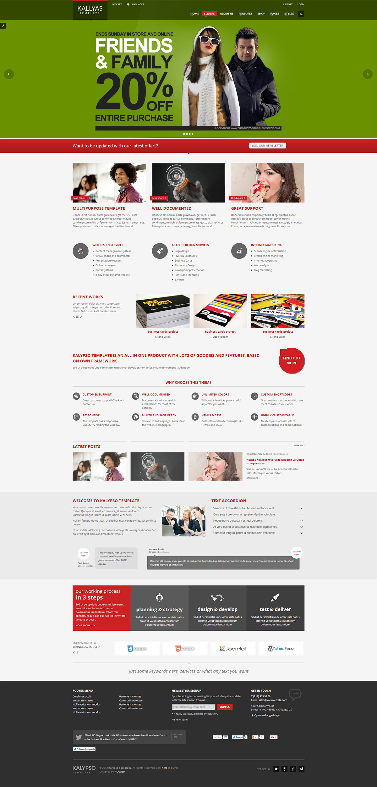 KALLYAS - Responsive Multipurpose Template - GENERAL PAGE 7
