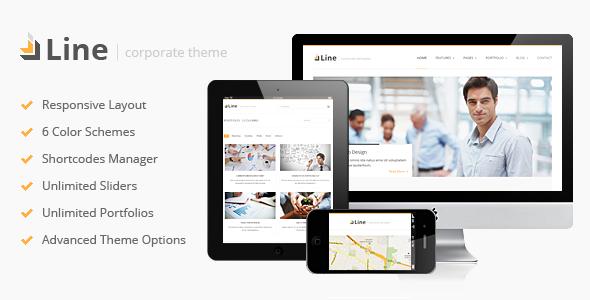 Line v1.1 – Responsive Corporate WordPress Theme | ThemeForest