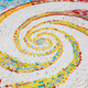 Colorful tile spiral pattern background - PhotoDune Item for Sale