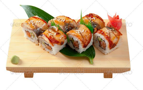 PhotoDune Japanese sushi maki 3743655