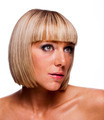 Pretty Young Woman with Blond Bob Hairstyle - PhotoDune Item for Sale