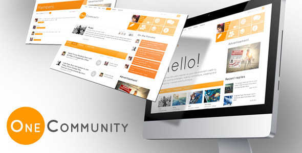 ThemeForest OneCommunity BuddyPress Theme 3713046