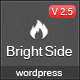 BrightSide - Modern Multipurpose Wordpress Theme - ThemeForest Item for Sale