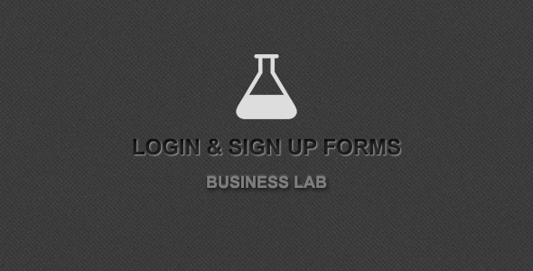 CodeCanyon Login & Sign Up Forms 3737955
