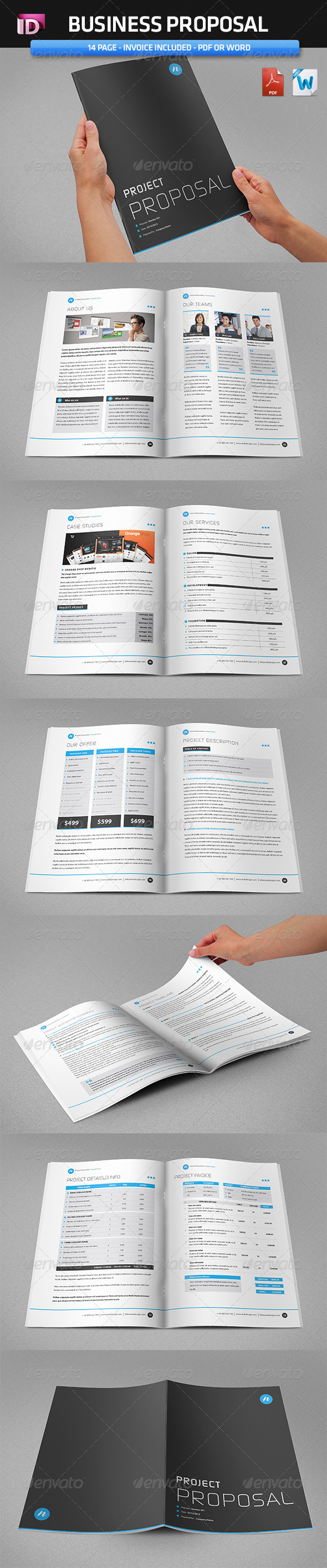 GraphicRiver Proposal Template Vol 1 3694144