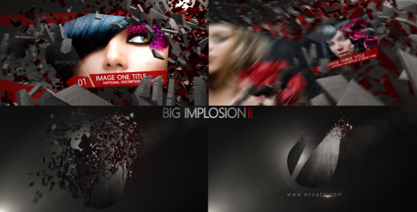 [VideoHive 3746281] Big Implosion II | After Effects Project
