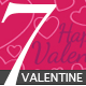 7 Seamless Vector Valentine Patterns - GraphicRiver Item for Sale