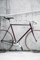 City bicycle and concrete wall, vintage style - PhotoDune Item for Sale