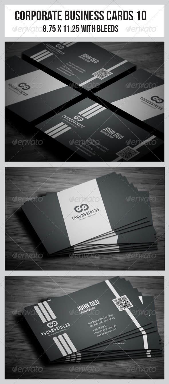Corporate Business Cards 10 - Corporate Business Cards