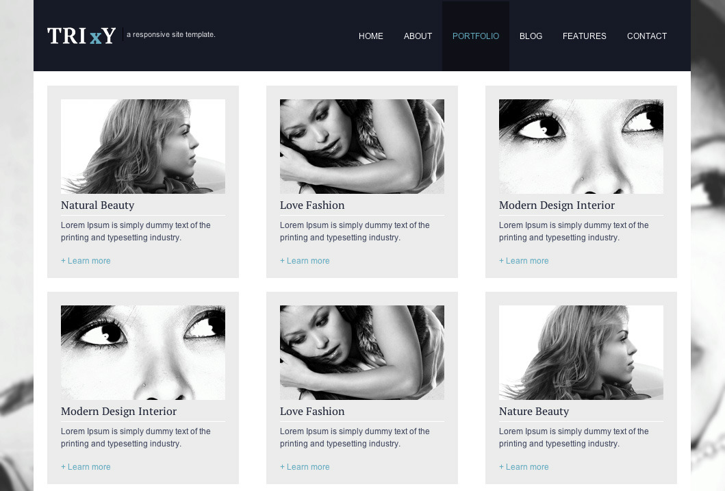 Trixy - Responsive Site Template
