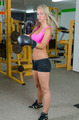 Sexy Blonde Girl in Fitness Studio Boxing - PhotoDune Item for Sale
