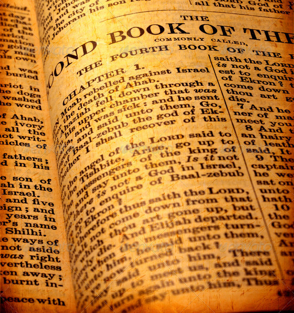 Holy Bible - Stock Photo - Images