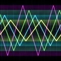 Colorful Triangle Waveforms - PhotoDune Item for Sale