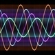 Colorful Sine Waves - PhotoDune Item for Sale