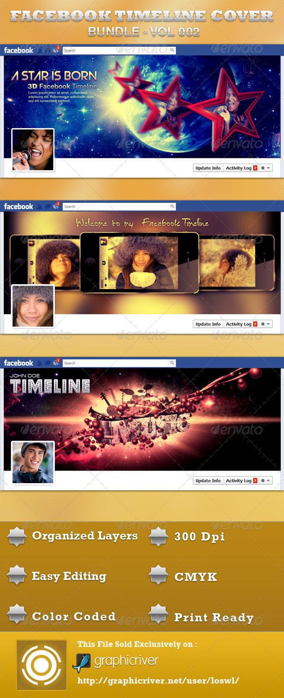 GraphicRiver FB Timeline Cover Bundle 3764318