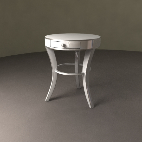 3DOcean Night Table Mino 405360