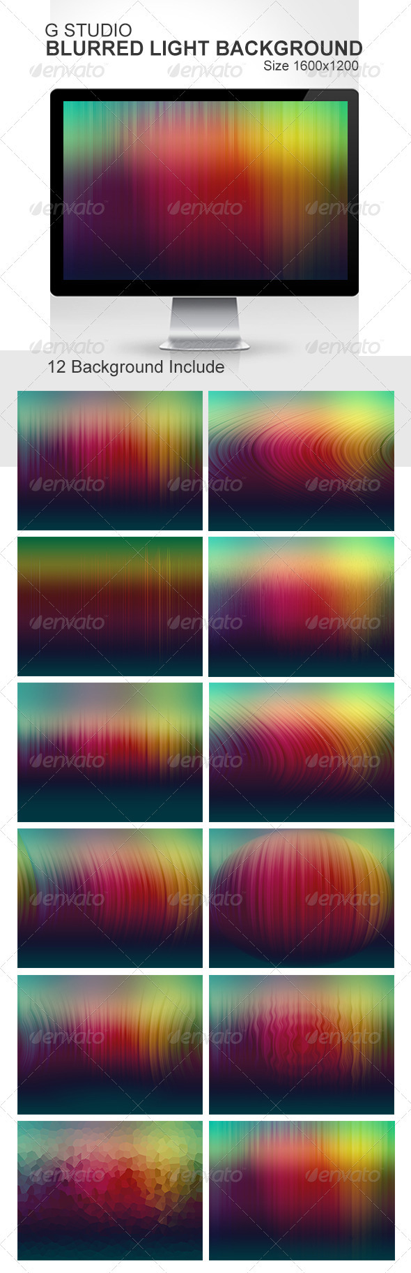 Gstudio Blurred Light Background - Abstract Backgrounds