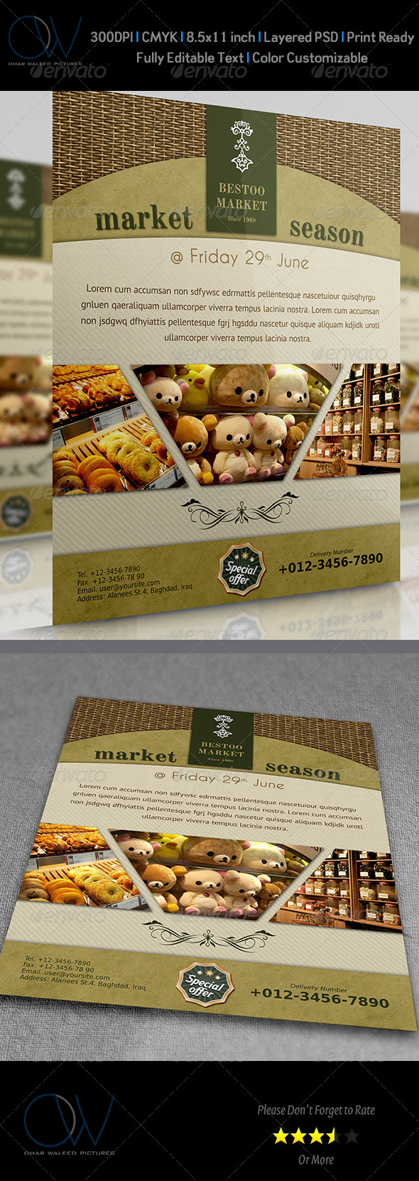 Shop - Market Flyer - Commerce Flyers