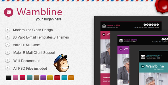 Wambline E-mail Template