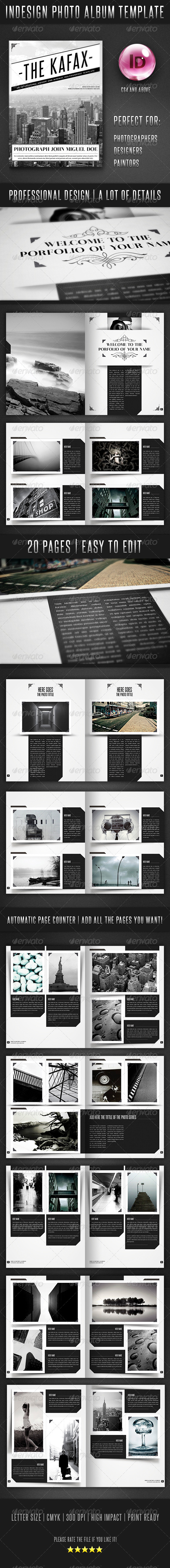 GraphicRiver Design Photo Album Template 3766144