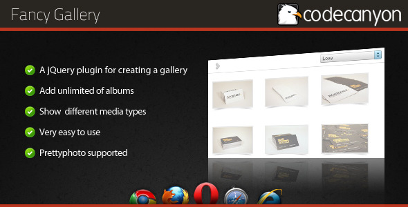 CodeCanyon Fancy Gallery jQuery plugin 157532