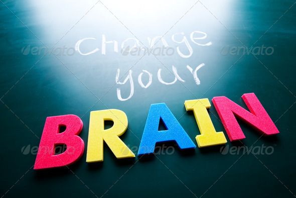 Change your brain concept - Stock Photo - Images