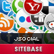 jSocial - CodeCanyon Item for Sale