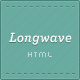 Longwave - Responsive HTML Template - ThemeForest Item for Sale