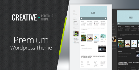 Creative - Clean & Modern WordPress Theme - Portfolio Creative