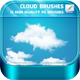 Cloud Brushes - GraphicRiver Item for Sale