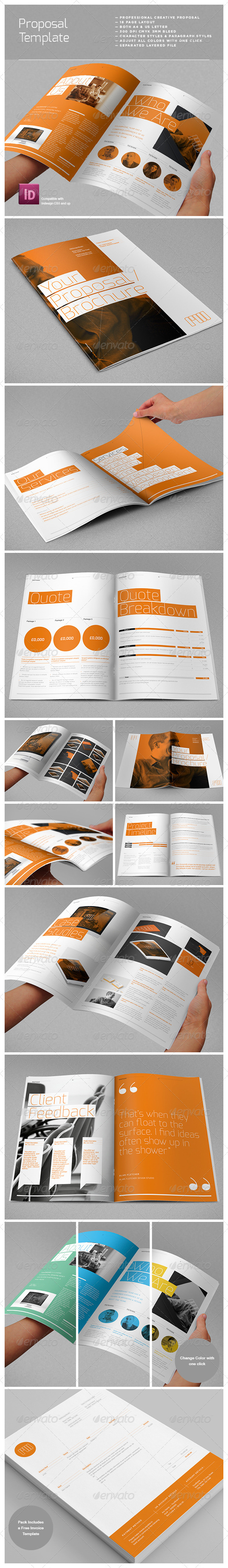 GraphicRiver Agency Proposal Template 3771597