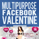 Multipurpose FB Timeline Valentines Day - GraphicRiver Item for Sale