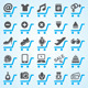Shopping And E-Commerce Icons  - GraphicRiver Item for Sale