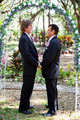 Gay Marriage - Under the Floral Arch - PhotoDune Item for Sale