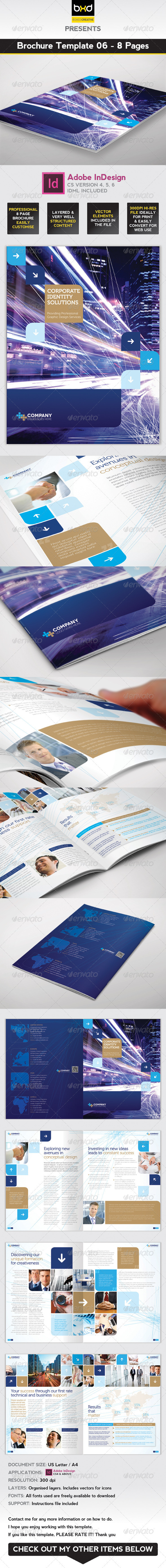 GraphicRiver Brochure Template InDesign 8 Page Layout 06 3772515