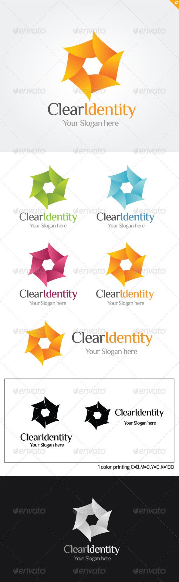 GraphicRiver Clear Identity Logo 3718023