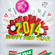 2014 New Year Flyer Template - GraphicRiver Item for Sale