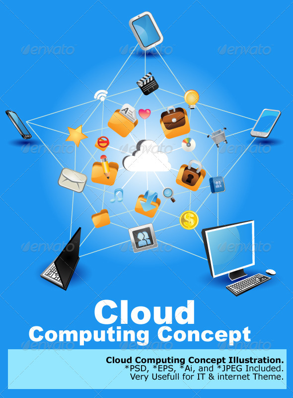 GraphicRiver Cloud Computing 3773061