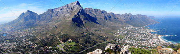 Stock Photo - PhotoDune Table Mountain Panorama 406289