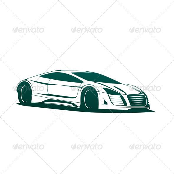 GraphicRiver Sports Car Vector 3773608